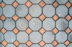 Blocchetti del pavimento delle pietre per il modello ed il fondo fotografie stock libere da diritti