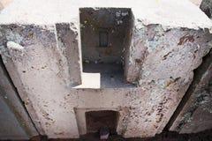 Blocchetti della pietra di Punku del puma - Bolivia immagini stock libere da diritti