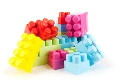 Blocchetti di Lego Fotografia Stock Libera da Diritti