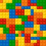 Blocchetti di Lego illustrazione di stock