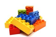 Blocchetti di Lego Immagini Stock Libere da Diritti
