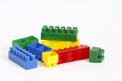 Blocchetti di Lego Fotografie Stock