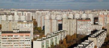 Blocchetti di Mosca delle costruzioni Immagine Stock