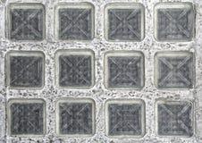 Blocchetti di vetro del pavimento Immagini Stock
