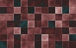 Blocchetti quadrati geometrici di pendenza Struttura di scintillio sottragga la priorit? bassa immagini stock libere da diritti