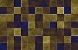 Blocchetti quadrati geometrici di pendenza Struttura di scintillio sottragga la priorit? bassa illustrazione di stock