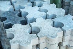 Blocchetto del cemento fotografia stock