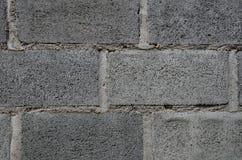 Blocchetto del mattone della parete immagini stock