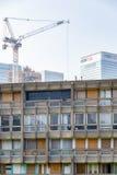 Blocchetto dell'alloggio della casa popolare a Londra orientale Fotografia Stock Libera da Diritti