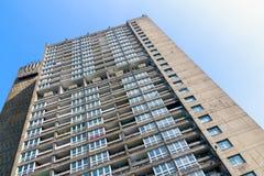 Blocchetto dell'edilizia economica e popolare a Londra orientale Fotografia Stock Libera da Diritti
