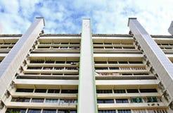 Blocchetto dell'edilizia popolare di Singapore a Toa Payoh Immagine Stock