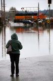 Blocchetto dell'inondazione Immagini Stock Libere da Diritti