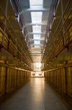 Blocchetto delle cellule del Broadway a Alcatraz Fotografia Stock Libera da Diritti