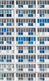 Blocchetto desaturato moderno dell'alloggio in Russia Fotografie Stock Libere da Diritti