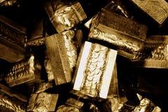 Blocchetto di alluminio della saldatura Fotografia Stock