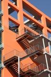Blocchetto di appartamenti variopinto Fotografia Stock Libera da Diritti