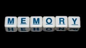 BLOCCHETTO DI MEMORIA/BLOCCHI - CONCETTO Fotografia Stock