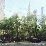 Blocchetto di New York Fotografia Stock