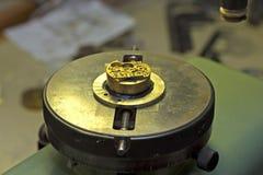 blocchetto di pressione Fotografia Stock