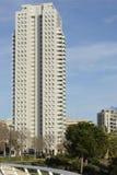 Blocchetto di torre alto moderno a Valencia, Spagna Immagine Stock Libera da Diritti