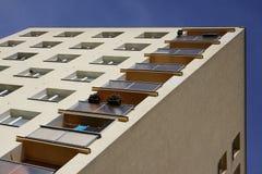Blocchetto di torre residenziale Immagine Stock Libera da Diritti