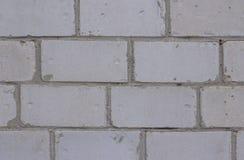 Blocchetto grigio di struttura del fondo del muro di mattoni, superficie, cemento, fotografia stock libera da diritti