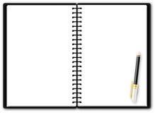 Blocchetto per appunti utilizzabile Fotografia Stock