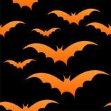 Blocchi arancioni sul nero, senza giunte Immagini Stock Libere da Diritti