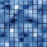 Blocchi blu Fotografia Stock
