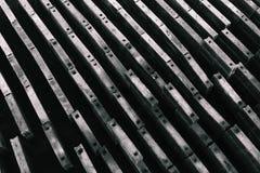 Blocchi in calcestruzzo per costruzione Blocchi rettangolari di calcestruzzo Fondo e struttura fotografie stock libere da diritti