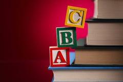 Blocchi, concetti di istruzione Fotografie Stock Libere da Diritti