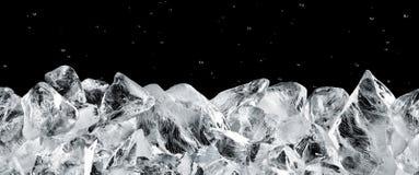 Blocchi di ghiaccio Immagini Stock Libere da Diritti