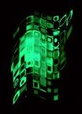 Blocchi di vetro Immagine Stock