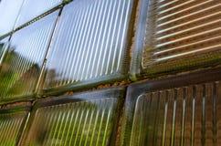 Blocchi di vetro colorati Fotografia Stock Libera da Diritti