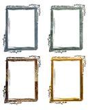 Blocchi per grafici antichi di lerciume Immagini Stock Libere da Diritti