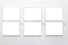 Blocchi per grafici in bianco Fotografie Stock Libere da Diritti