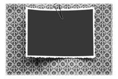 Blocchi per grafici in bianco della foto Fotografie Stock