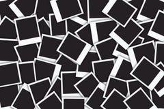 Blocchi per grafici in bianco della foto Immagini Stock Libere da Diritti