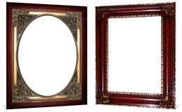 Blocchi per grafici decorati della ciliegia e dell'oro Fotografia Stock