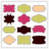 Blocchi per grafici decorativi Fotografia Stock
