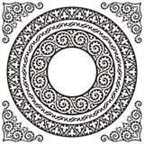 Blocchi per grafici del cerchio Immagini Stock