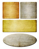 Blocchi per grafici del metallo Fotografie Stock Libere da Diritti