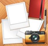 Blocchi per grafici della foto e della macchina fotografica Fotografia Stock Libera da Diritti