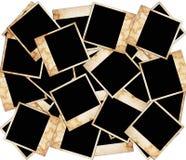 Blocchi per grafici della foto isolati su bianco Immagini Stock