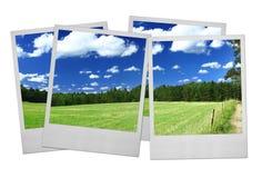 Blocchi per grafici della foto su bianco Fotografia Stock Libera da Diritti