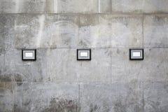 Blocchi per grafici della parete Fotografie Stock Libere da Diritti