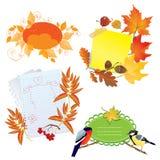 Blocchi per grafici di autunno Fotografie Stock