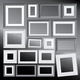 Blocchi per grafici di Bw Fotografia Stock