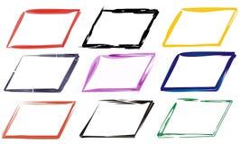 Blocchi per grafici di colori Fotografia Stock Libera da Diritti