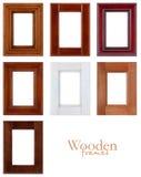 Blocchi per grafici di legno Fotografie Stock Libere da Diritti